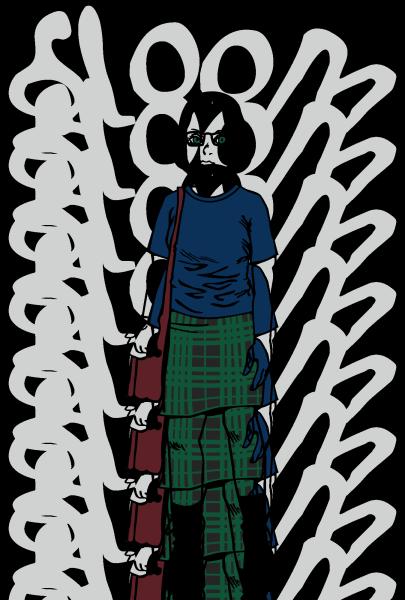 ゴーストワールド Tシャツ デザイン