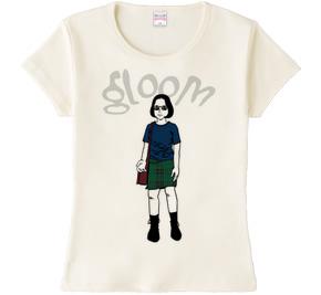 ghost world レディースTシャツ ナチュラル
