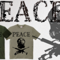 PEACE Tシャツ UP