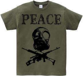 ガスマスク Tシャツ