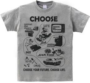 トレインスポッティング Tシャツ